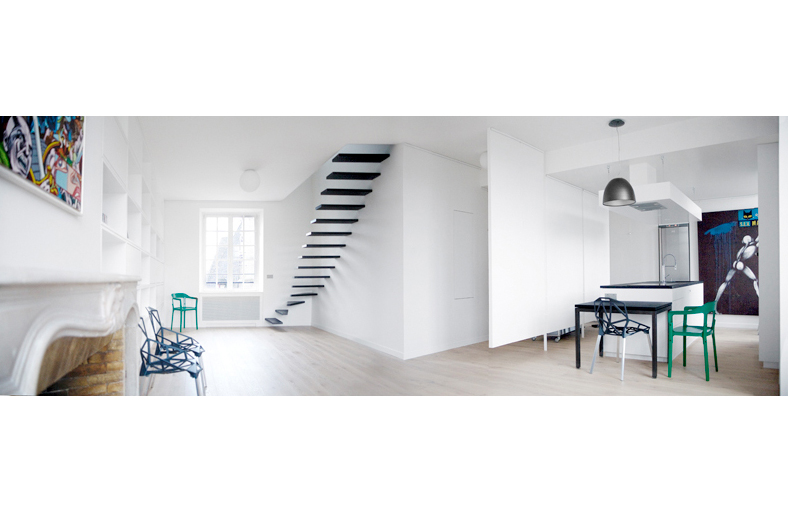 Appartement parisien studio ecole yook - Decoration studio parisien ...