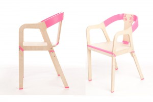 Chaise Elastic Wood - Design Gil Sheff pour Bakery // ©Bakery