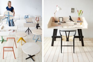 Tables basses Mun - Design Christien Starkenburg pour Slow Wood // ©Slow Wood