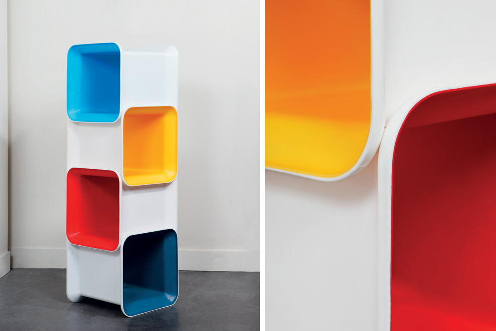 Ordinary Meuble De Rangement Case #12: ... Meuble De Rangement Case - Design Antoine Phelouzat // ©William Béchet,  Yookô ...