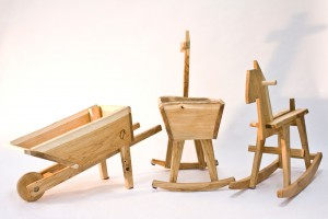 Collection Kid's Furniture par le designer néerlandais Bo Reudler // © Bo Reudler