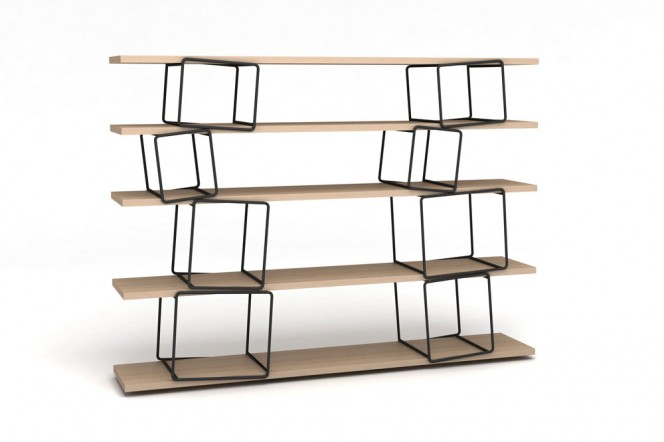 Quake shelf by Antoine Phelouzat for ENO Studio - Maison & Objet 2012 // © Eno Studio