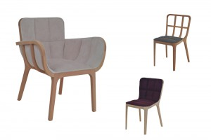 Collection d'assises Kago - Design Jean-Marc Gady pour Perrouin // © Perrouin