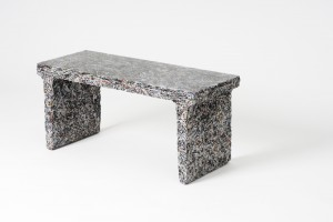 Banc - The Shredded Collection par Jens Praet pour Industry Gallery // © Kaitey Whitehead