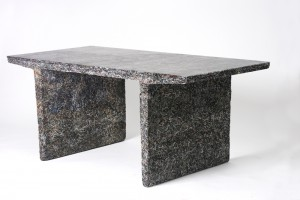 Table - The Shredded Collection par Jens Praet pour Industry Gallery // © Kaitey Whitehead