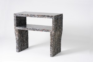 Table d'appoint - The Shredded Collection par Jens Praet pour Industry Gallery // © Kaitey Whitehead
