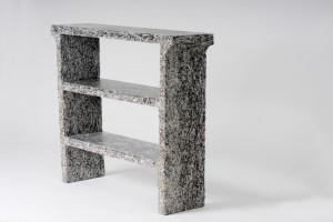 Console - The Shredded Collection par Jens Praet pour Industry Gallery // © Kaitey Whitehead