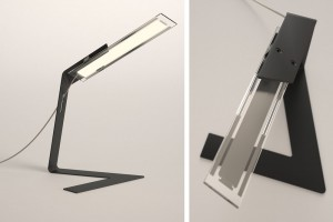 Lampe Folz - Design Bertrand Médas pour Blackbody // © Blackbody