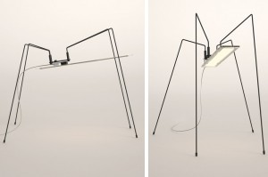 Lampe Spider - Design Bertrand Médas pour Blackbody // © Blackbody
