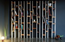 Bibliothque R60 - Collection Recycled - Design Nicola Santini et Pier Paolo Taddei pour Kann //  Rudy Bou Chebel