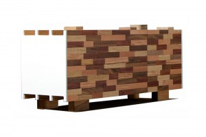 Buffet R40 - Collection Recycled - Design Nicola Santini et Pier Paolo Taddei pour Kann // © Rudy Bou Chebel