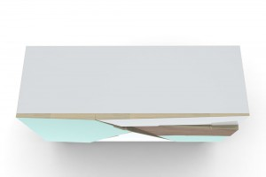 Buffet Tangram - Design At-once pour l'Edito // © At-once