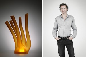 Lampe Algue - Design Xavier Lust pour MGX by Materialise // © Alexandre van Battel
