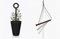 Pot Buddy et Suspension Loop par Quentin de Coster //  Quentin de Coster et Christophe Spulchre