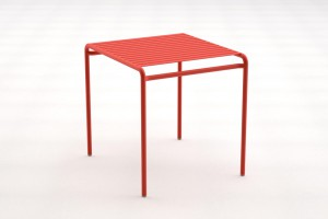 Table haute Week-End - Design Studio Brichet Ziegler pour Oxyo - Milan 2012  // © Oxyo
