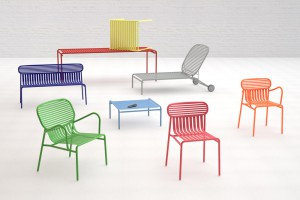 Collection de mobilier outdoor Week-End - Design Studio Brichet Ziegler pour Oxyo - Milan 2012  // © Oxyo