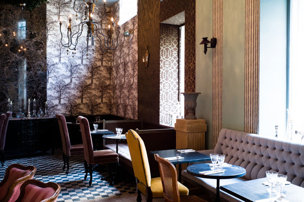 Restaurant le schmuck paris yook - Laura gonzalez decoratrice ...