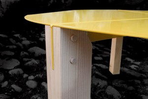 Table basse Tools - Design Thomas Merlin pour Entreautre // ©  Thomas Merlin