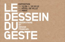 Exposition / Le Dessein du Geste / Yook: Design &amp; architecture d&#039;intrieur