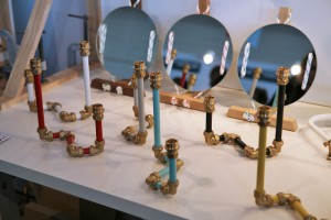 Bougeoirs Candelabra Two &amp; Three par le designer anglaisNick Fraser //  Yook
