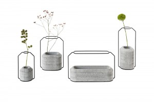 Vases Weight  Design Decha Archjananun de Thinkk studio pour Specimen //  Specimen