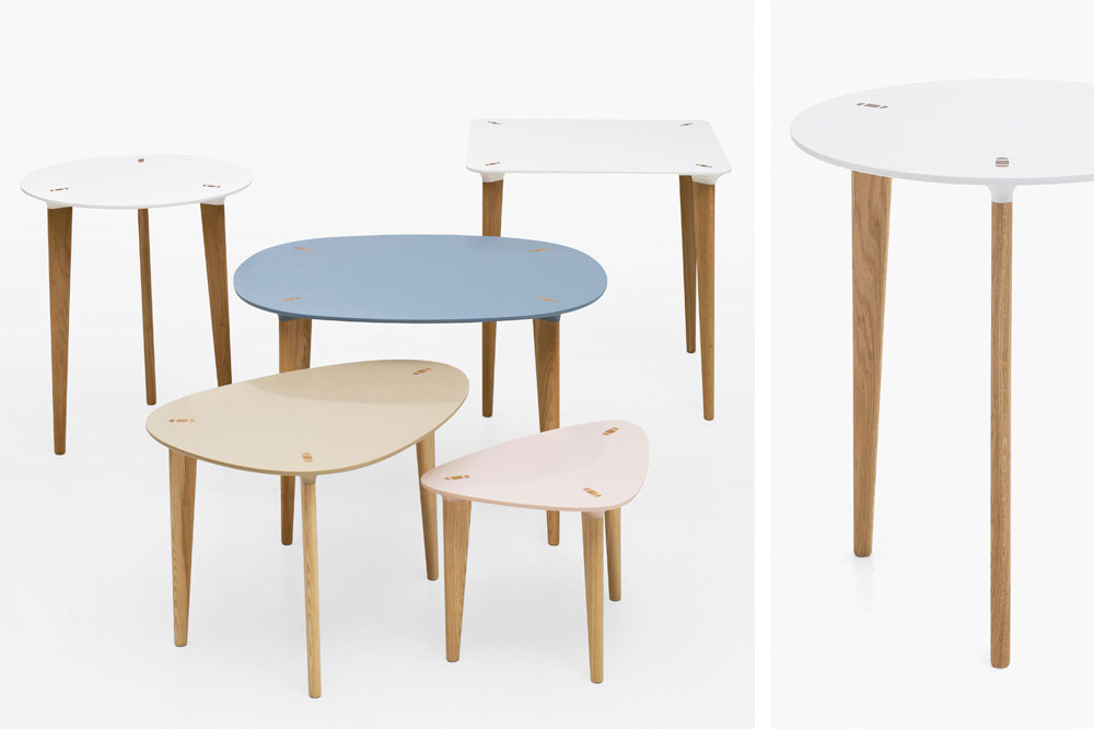 table basse pastel cocktail scandinave. Black Bedroom Furniture Sets. Home Design Ideas