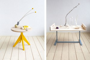 Sélection 16 tables basses / Yookô / Tables basses Mun - Design Christien Starkenburg pour Slow Wood