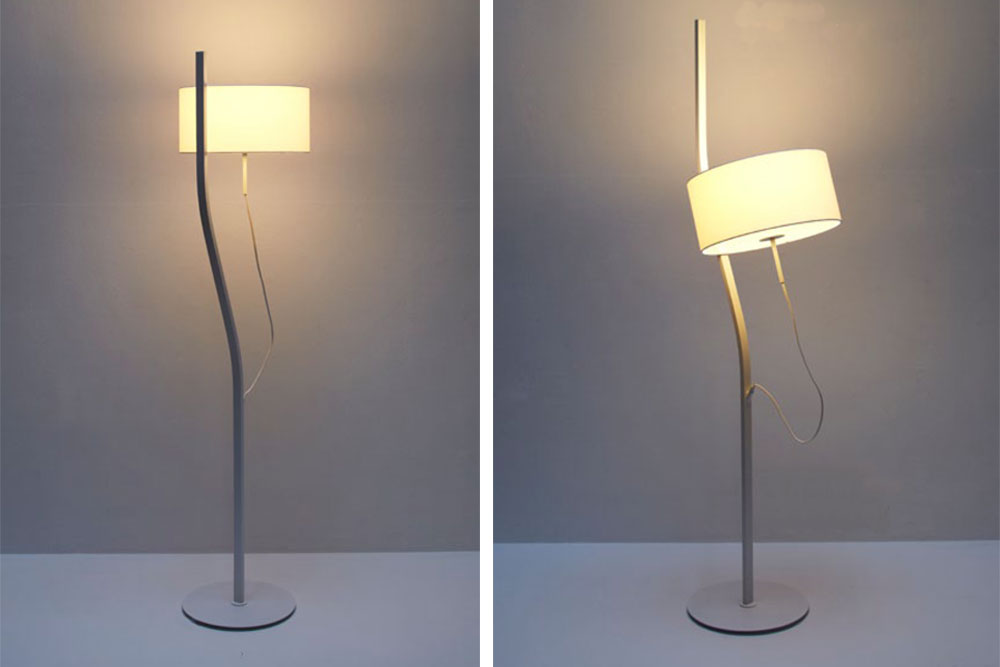 Lumi re mobile 5 cr ations originales yook for Lampadaire interieur design