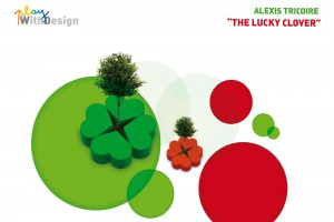 Exposition PlayWithDesign – Alexis Tricoire – THE LUCKY CLOVER // © Playtime