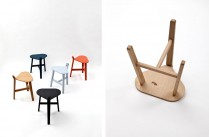 Bronco stool by Guillaume Delvigne for Super-ette