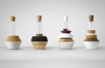 Arts de la table / Design Art / Série de vases Element Vessels par les londoniens de Vitamin / Yooko: Design, décoration & architecture d'intérieur