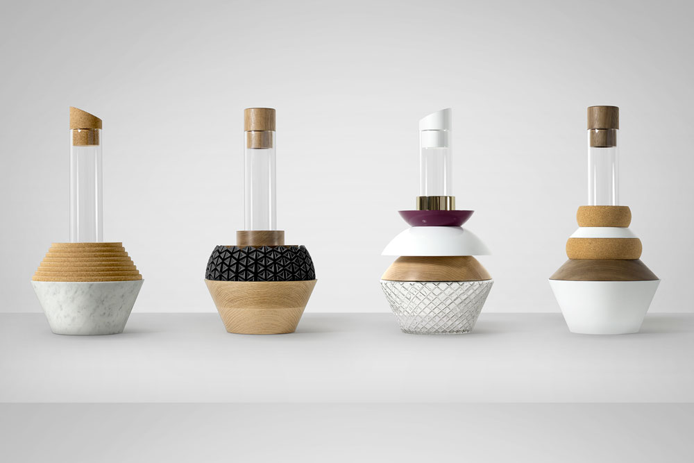 S rie de vases element vessels par vitamin yook - Arts de la table nantes ...
