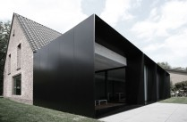 Architecture / Extension contemporaine / Maison House DS en Belgique par Graux & Baeyens architecten / Yooko: Design, décoration & architecture d'intérieur