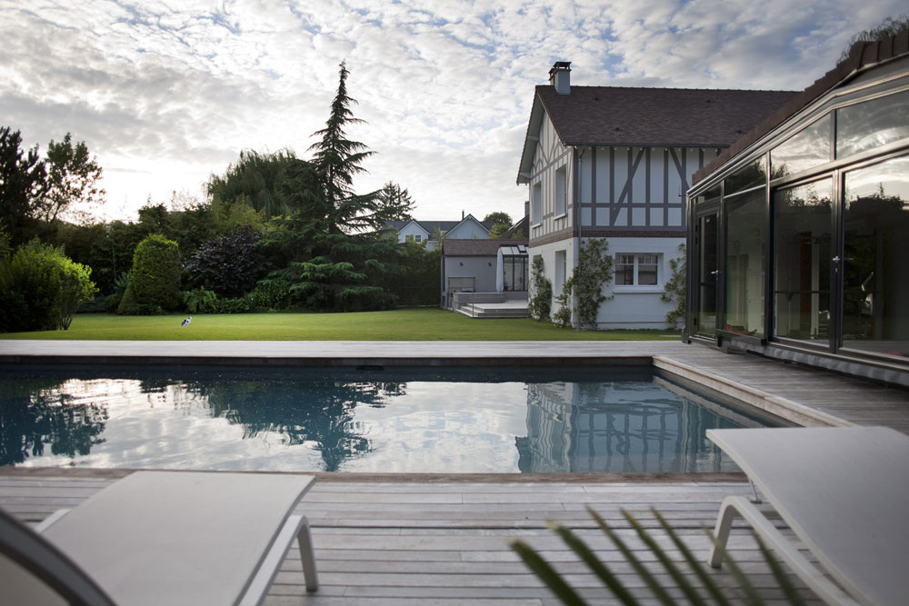 Architecture 5 exemples d extensions contemporaines yook - Maison ancienne renovee olivier chabaud ...