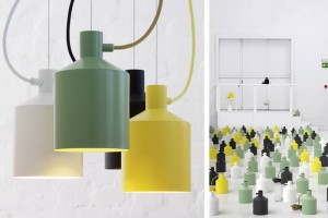 Lampe Silo - Note Design Studio pour Zero // © Mathias Nero