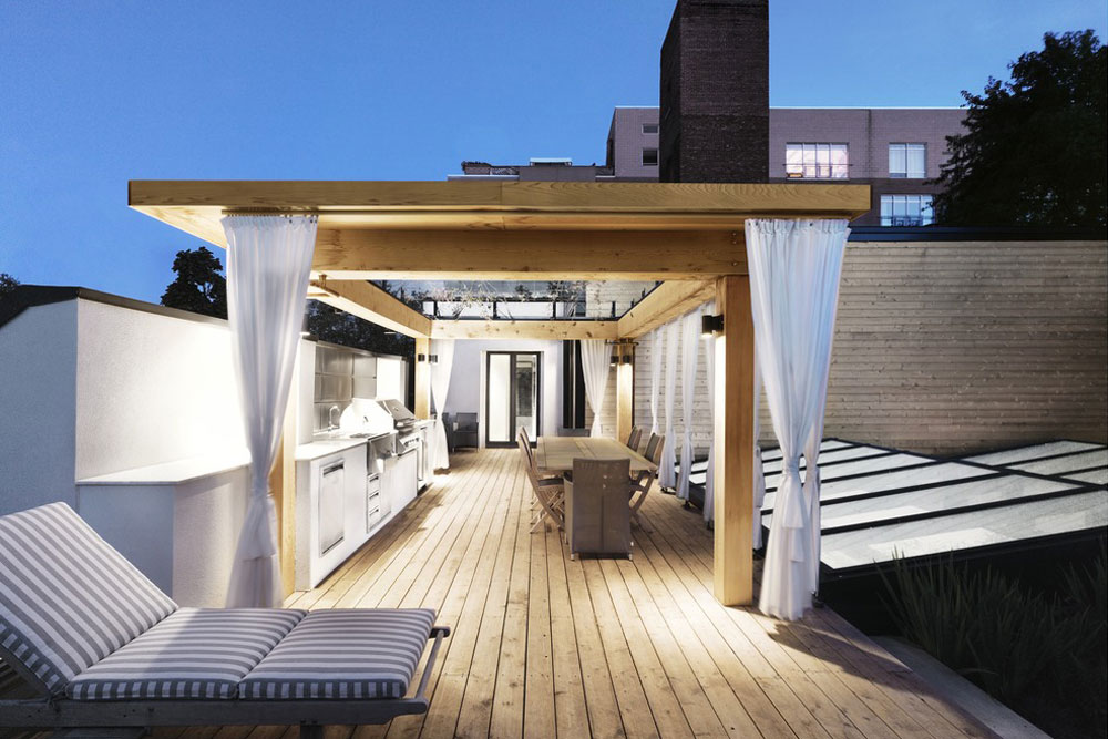 Am nagement d un imposant toit terrasse yook - Amenagement terrasse toit plat ...
