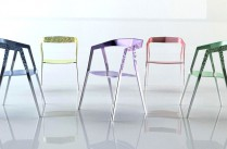 Wanted Design New-York 2013 / Chaises en aluminium de la collection Cartesian par Alexander Purcell Rodrigues Design / Yooko