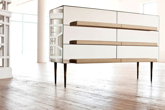 3ème Edition de Wanted Design New-York / salon / Exposition / Buffet Illusion par Luis Pons D-Lab / Yooko