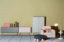 Collection d'Armoires / buffet Toshi / Design Luca Nichetto pour Casamania / Yooko