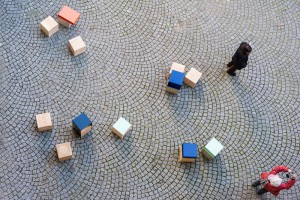 Mobilier urbain Plots - Design Amaury Poudray // © Amaury Poudray