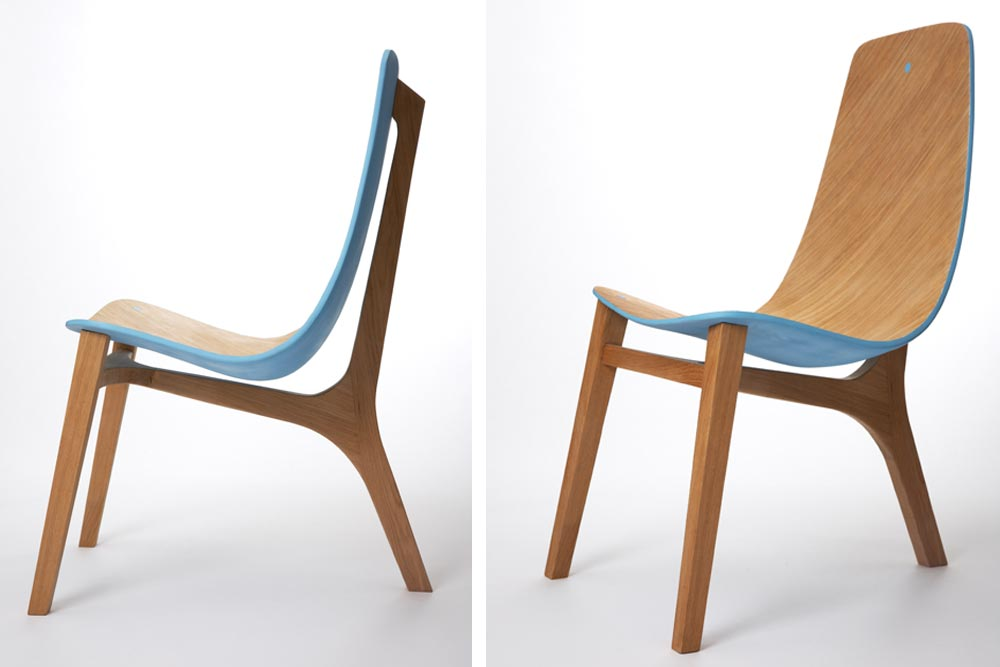 Chaise Baby Blue par Paul Venaille / Les designers lyonnais sur Now! Le Off / Next design / Yooko