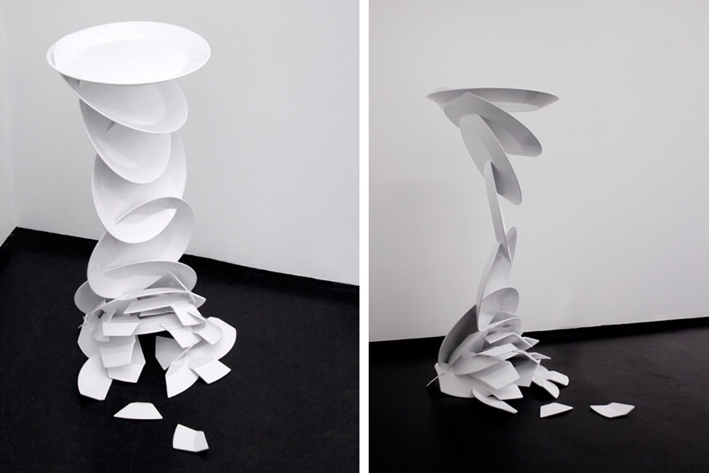 Artdesign / Limited edition / Art / Oups pedestal table – Julien Vidame for the Granville Gallery / Yooko