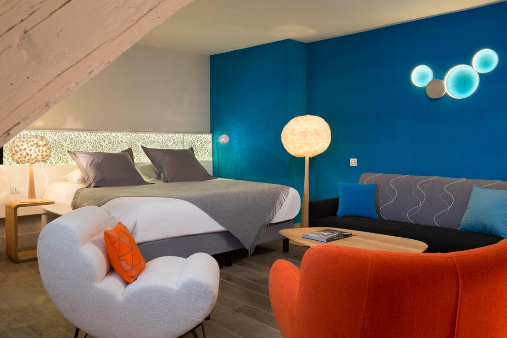 Cocon contemporain r ouverture de l h tel chavanel for Hotel contemporain