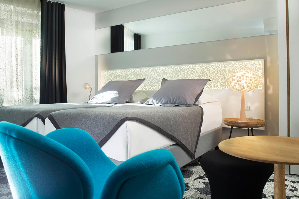 Cocon contemporain r ouverture de l h tel chavanel for Hotel contemporain paris