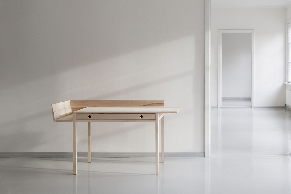Bureau November - Louise Campbell pour Nikari / sélection Design & Bureau / Yooko