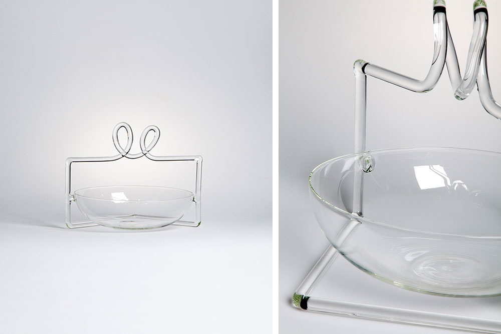 Sara par Ryu Yamamoto / Fabrica - Exposition Drawing Glass / Verre / Artdesign / Paris Design Week / Design Miami / Yooko