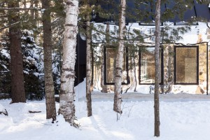 Maison Lake Cottage au Canada par UUfie Architects // © Naho Kubota