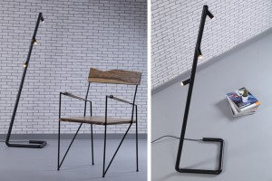 Abot chair and Gira lamp by  par José Pascal // © Rudy Bou Chebel
