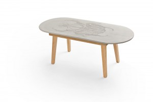 Table Bug  par Mensch Made en collaboration avec George & Harrison // © Mensch Made
