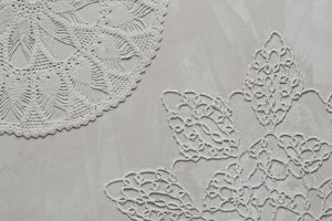 Motifs Lace - Doreen Westphal pour Mensch Made // © Mensch Made